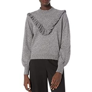 The Fifth Label Arc Ruffle Turtleneck Sweater